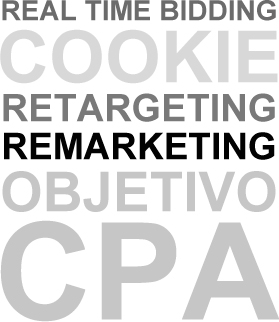 Real Time Bidding,  Cookie,  Retargeting,  Remarketing, Objetivo CPA